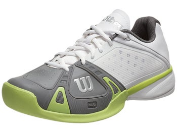 Wilson Rush Pro White/Graphite/Green Men's Shoe