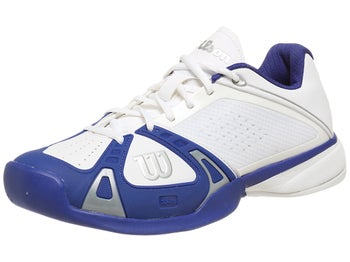 Wilson Rush Pro White/Navy Men's Shoe
