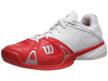 Wilson Rush Pro White/Red Men's Shoe