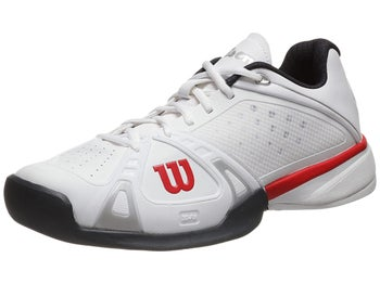 Wilson Rush Pro White/Red/Coal Men's Shoe