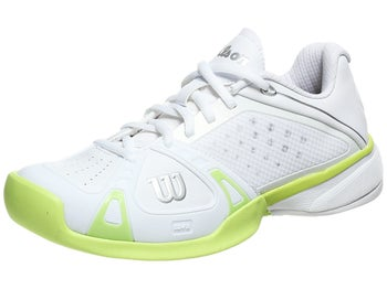 Wilson Rush Pro White/Lime Women's Shoe