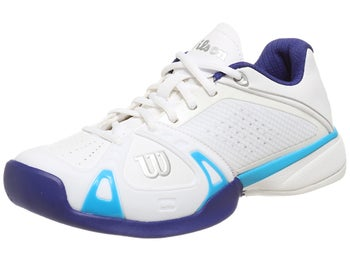 Wilson Rush Pro White/Blue Women's Shoe