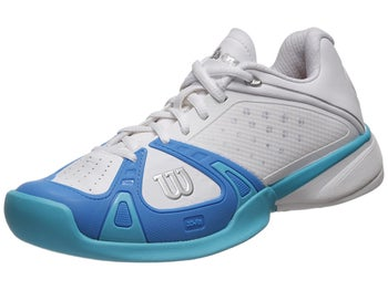 Wilson Rush Pro White/Pool/Oceana Women's Shoe