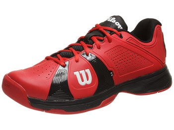 Wilson Rush Sport Red/Black Men's Shoe