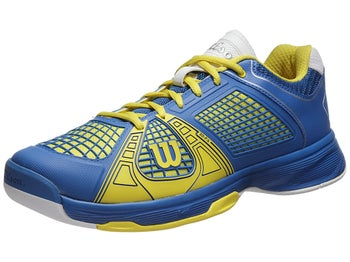 Wilson Rush NGX Blue/Yellow Men's Shoe