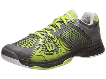 Wilson Rush NGX Graphite/Green Men's Shoe