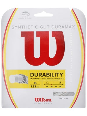 Wilson Synthetic Gut DuraMax 16 String White
