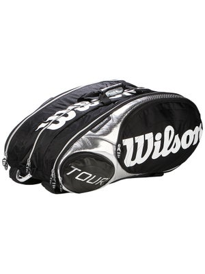 Wilson Tour Black/Silver 15 Pack Bag
