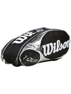 Wilson Tour Black/Silver 9-Pack Bag