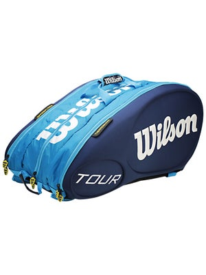 Wilson Tour Blue 15 Pack Bag
