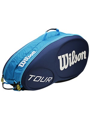 Wilson Tour Blue 6 Pack Bag