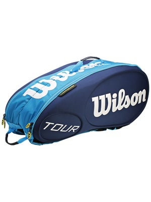 Wilson Tour Blue 9 Pack Bag