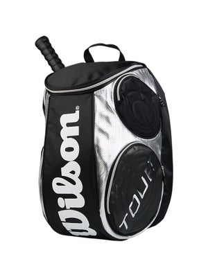 Wilson Tour Black/Silver Back Pack Large