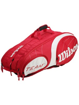 Wilson Team Red/White 12 Pack Bag