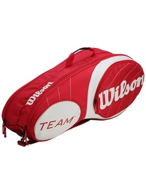 Wilson Team Red/White 6 Pack Bag