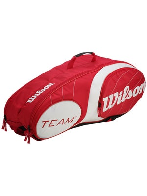 Wilson Team Red/White 9 Pack Bag