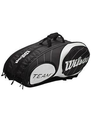 Wilson Team Black/SIlver 12 Pack Bag