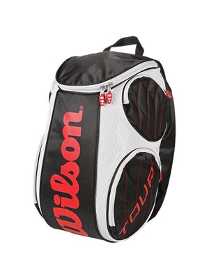 Wilson Tour Black/White/Red Backpack Large