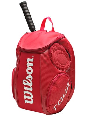 Wilson Tour Red Large Backpack Bag