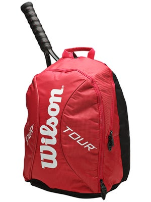 Wilson Tour Red Small Backpack Bag