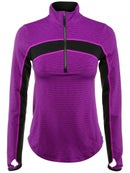 Wilson Womens Fall Ashland 1/2 Zip LS Top