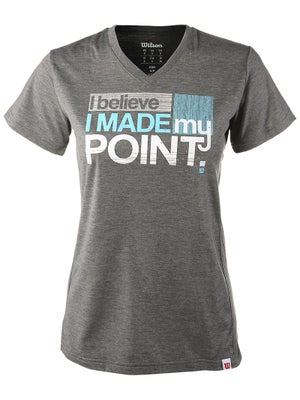 Wilson Women's Made My Point Tech Tee