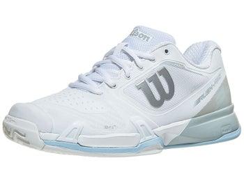 7ecc478fb537 Product image of Wilson Rush Pro 2.5 2019 White Blue Women s Shoe