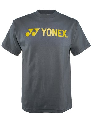 Yonex Men's Logo T-Shirt Charcoal Grey