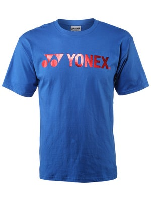 Yonex Men's Logo T-Shirt Royal Blue