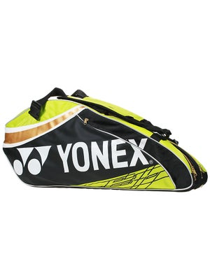 Yonex Pro Series 6 Pack Bag Black/Lime Green