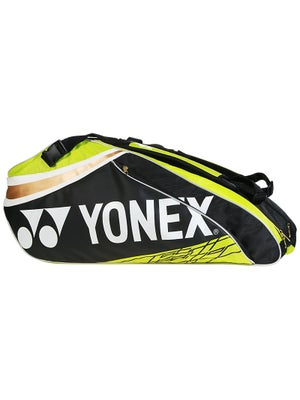 Yonex Pro Series 9-Pack Bag Black/Lime Green