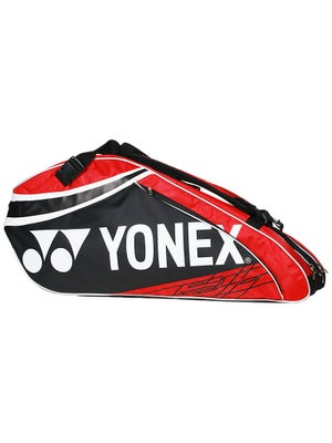 Yonex Pro Series 6 Pack Bag Black/Red