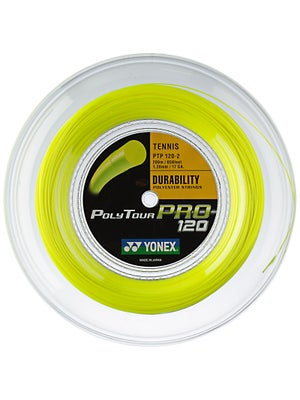 Yonex Poly Tour Pro 120 17 Yellow String Reel