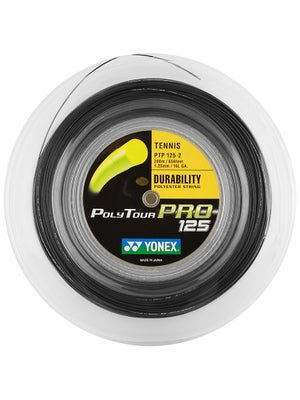 Yonex Poly Tour Pro 125 16L Black String Reel