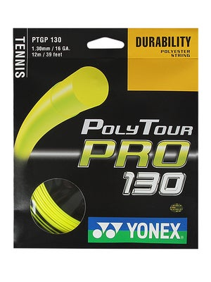 Yonex Poly Tour Pro 130 16 Yellow String