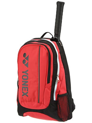 Yonex Tournament Basic Backpack Bag Red/Black
