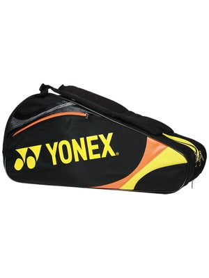 Yonex Tournament Basic 6 Pack Bag Black/Yellow