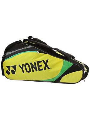 Yonex Tournament Basic 6 Pack Bag Yellow/Black