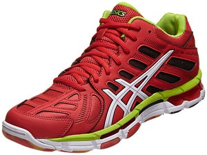 Asics Gel-Volleycross Revolution Mid Shoe Rd/Wh/Lime