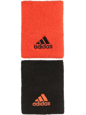 adidas Fall Large Wristband Black/Solar Red