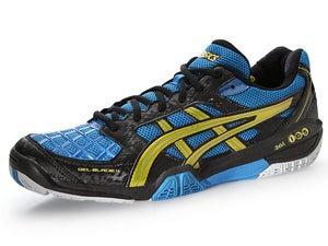 Asics Gel-Blade 4 Mens Shoes Black/Royal/Yellow
