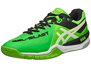 Asics Gel-Blast 6 Mens Shoes Green/White/Black