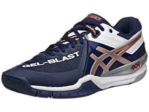 ASICS Gel Blast 6 Mens Shoes Navy/Lightning/White