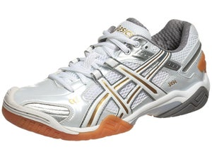 Asics Gel Domain 2 Womens Shoes Wh/Gold