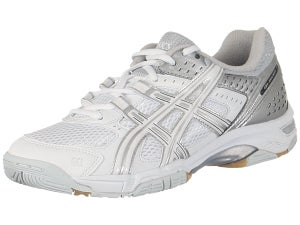 Asics Gel Rocket 5 Womens Shoes Wh/Sil Size 12