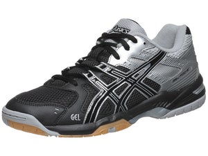 Asics Gel Rocket 6 Black/Silver/Mens Shoes