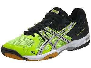 ASICS Gel Rocket 6 Green/Silver/Black Mens Shoes