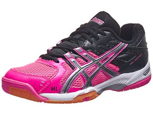 ASICS Gel Rocket 6 Pink/Black Womens Shoes
