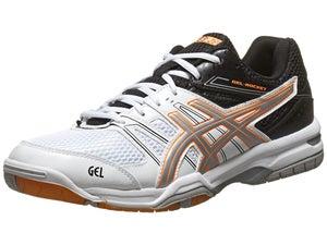 ASICS Gel Rocket 7 White/Black Mens Shoes