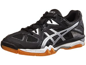ASICS Gel Tactic Mens Shoes Black/Onyx/Silver